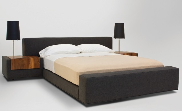 Zurich bed modern beds los angeles by vioski - Benefits of contemporary queen bed ...