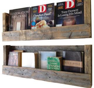 Texas Barn Wood Shelves, Set of 2