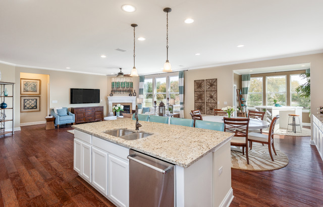 Pulte Homes Amberwood Model Home Photo Shoot  Traditional  Kitchen