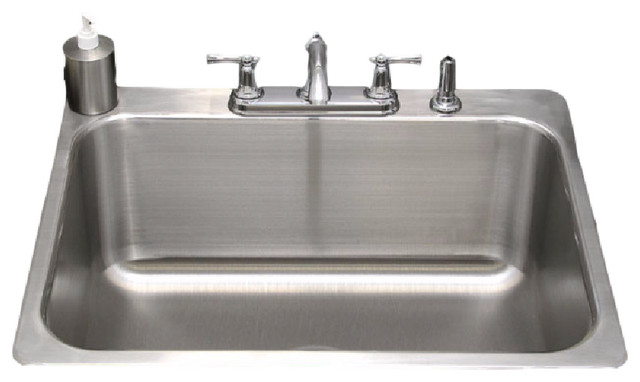 "Laundry Room Drop In Sink 27""x23"" Contemporary"