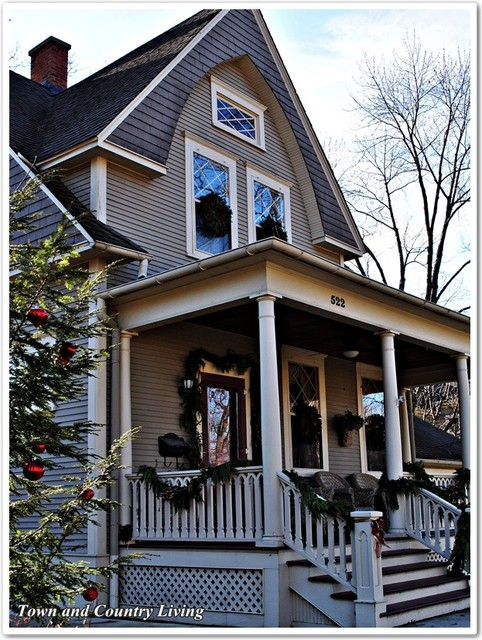 Historic Midwest Homes Traditional
