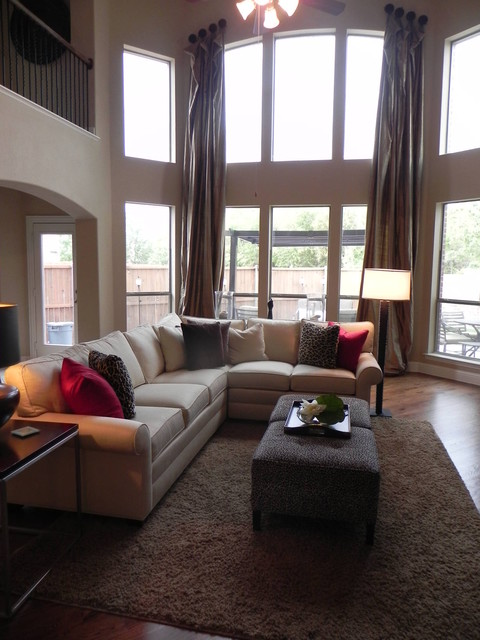 Earthy Modern Living Room Dallas By Mizell Moore