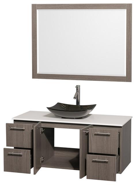 top sink and 46 mirror modern bathroom vanities and sink consoles