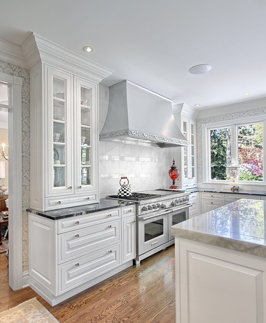 traditional white suburban kitchen traditional kitchen chicago by neff of chicago custom
