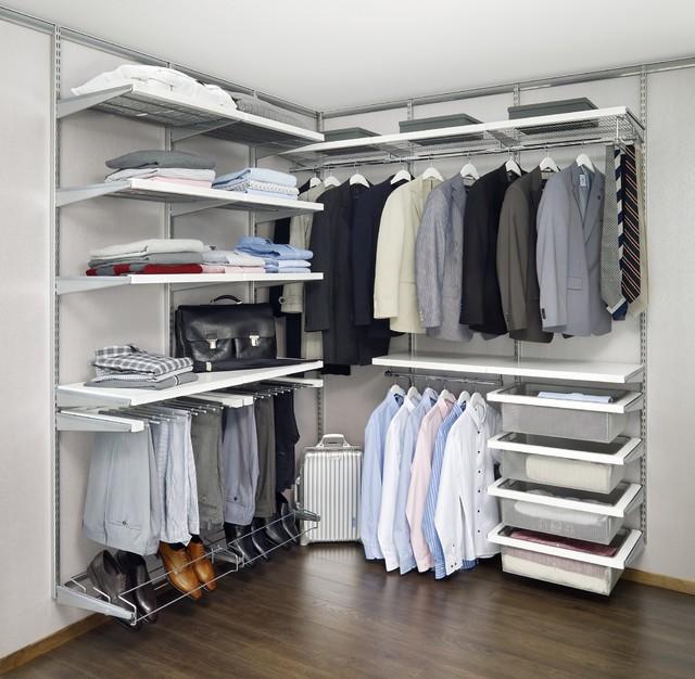 Elfa Wardrobe Systems Modern Closet Storage
