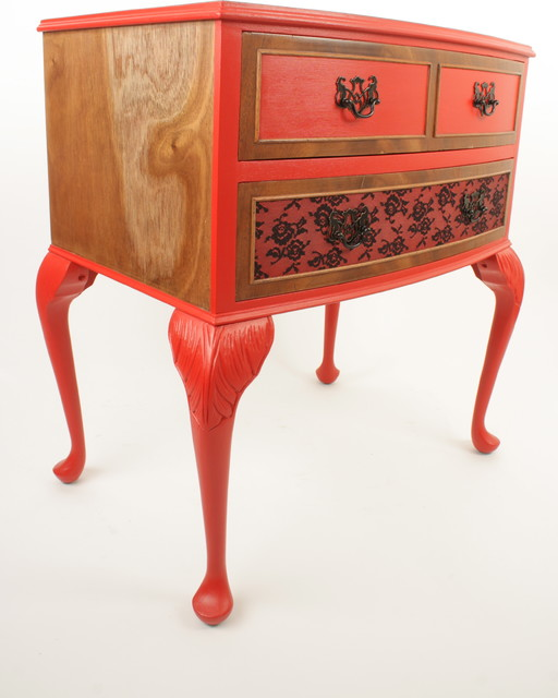 Upcycled vintage mahogany cabinet - Eclectic - Accent Chests And Cabinets - london - by ...