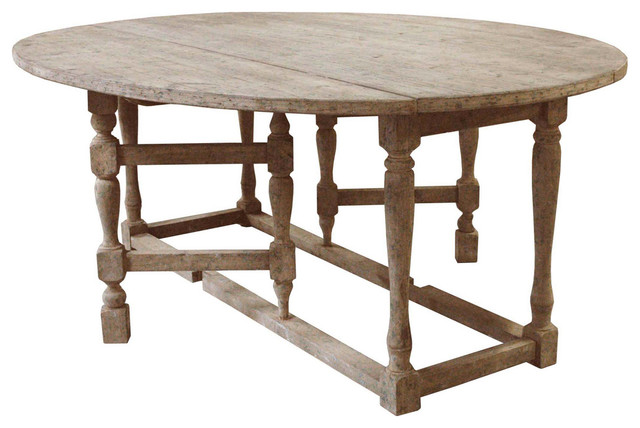 oval drop leaf kitchen table 2