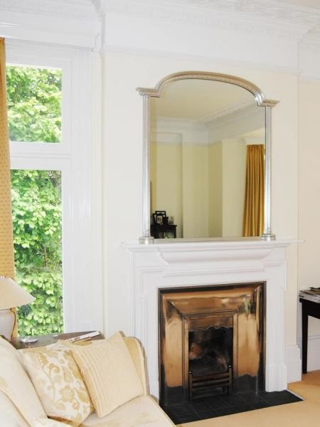 Plain Canted Archtop Mirror - Wall Mirrors - london - by Overmantels