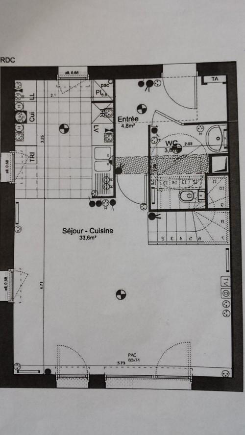 Carrelage ou parquet au rdc d 39 une maison rt2012 for Carrelage maison de campagne