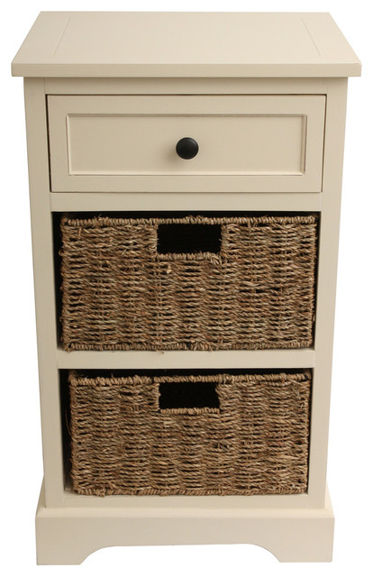 wooden cabinet with baskets antique white farmhouse bathroom cabinets