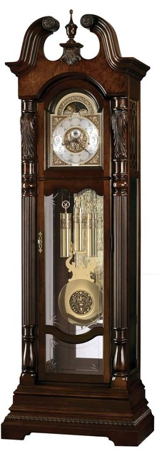 Howard Miller Lindsey Clock - Traditional - Floor And Grandfather Clocks - by Grandfather Clock Co.