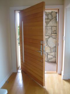 Piedmont Pivot Modern Front Doors San Francisco By Artistic Millworks
