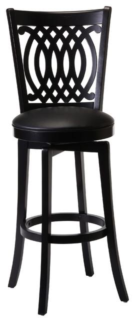Van Draus Black Finish Stool Contemporary Bar Stools  : contemporary bar stools and kitchen stools from www.houzz.co.uk size 270 x 640 jpeg 35kB