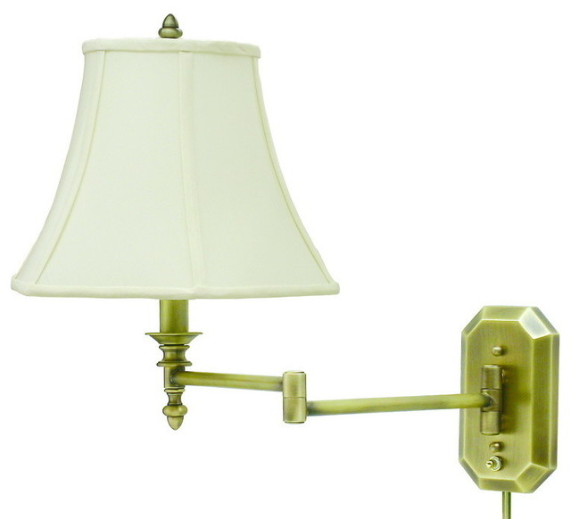 Contemporary Wall Lamps Swing Arms : House of Troy WS-708-AB Wall Swing - Contemporary - Swing Arm Wall Lamps - by Eager House