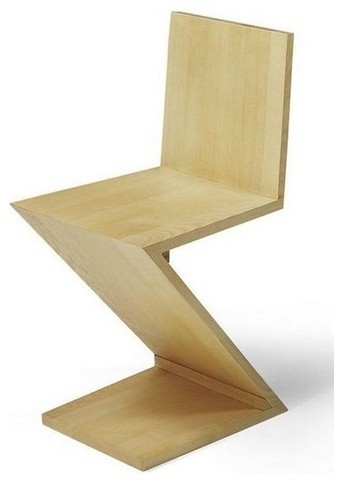 Gerrit Rietveld Zig Zag Chair Modern Dining Chairs