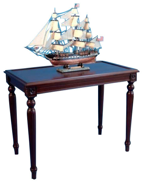 Rosewood display table nautical 48 quot beach style