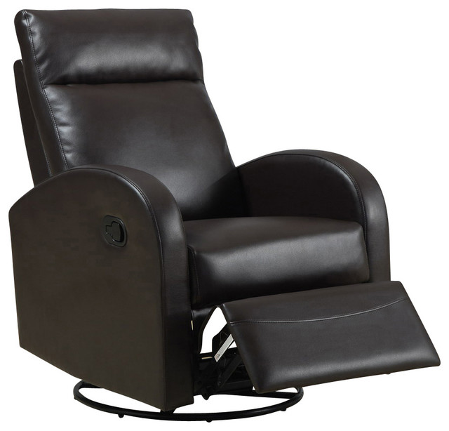 monarch specialties 8080x swivel rocker recliner