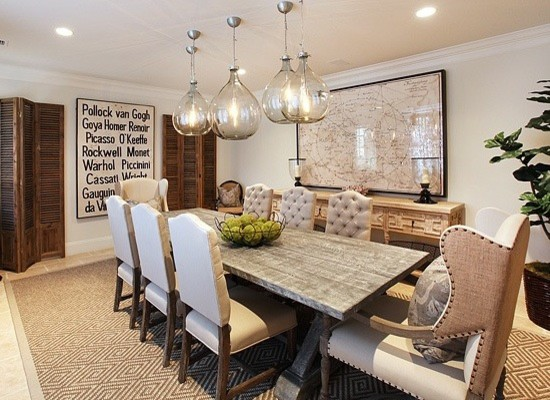 Calabasas Quot The Oaks Quot Eclectic Dining Room Los