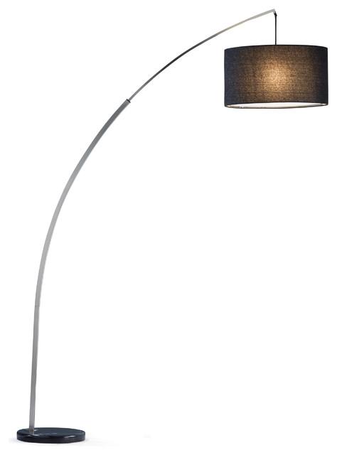 Adesso Rivington Arc Lamp Contemporary Floor Lamps