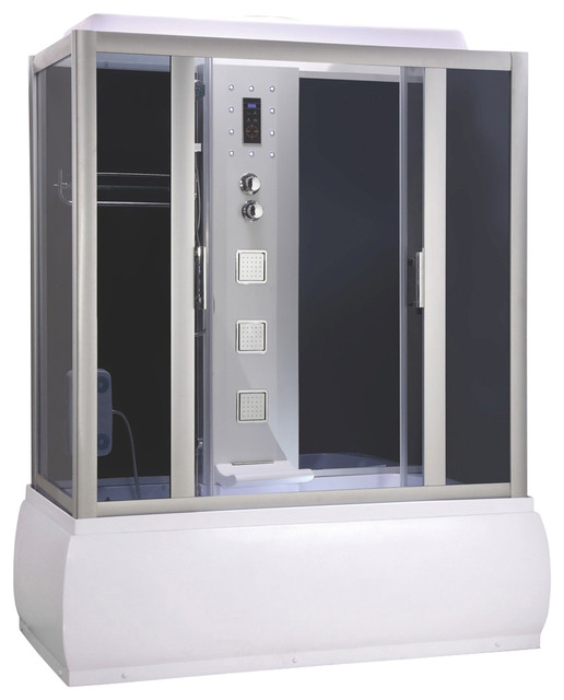 Bathtub And Shower Enclosure With Massage Modern Shower Stalls And Kits