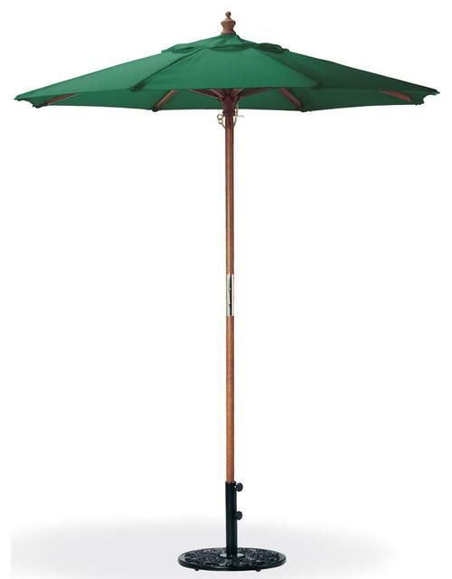 6 polyester market umbrella in modern outdoor