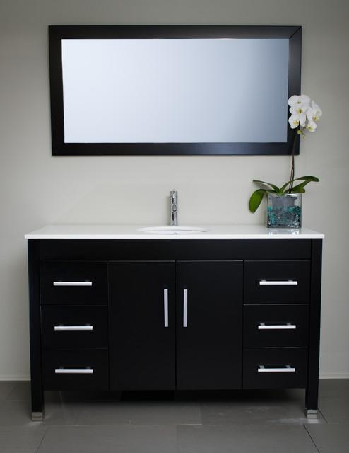 Modern Style Bathroom Vanity Cabinets : Modern bathroom vanities and sink consoles