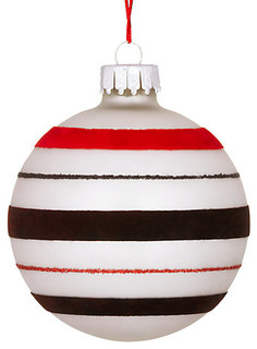 Striped Bauble Modern Christmas Ornaments By John Lewis
