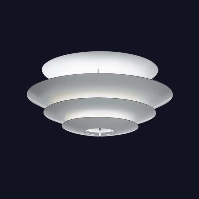 Louis Poulsen Oslo Round Ceiling/Wall Lamp - Modern - Flush-mount Ceiling Lighting - by Switch ...