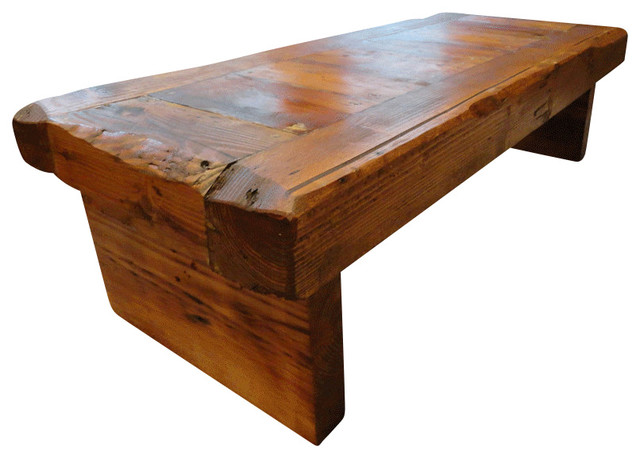 Old Growth Coffee Table 4 Inch Thick Top 30 X 48 Rustic Coffee Tables By Mt Hood Wood Works