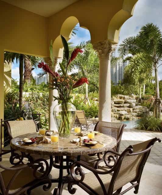 Hollywood Fl Home Mediterranean Patio Miami By