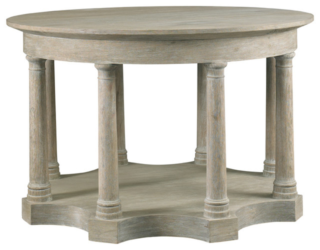 Lillian August Midland Column Hall Table La97329 01 Modern Side Tables And Accent Tables