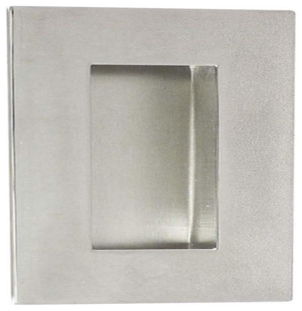 """INOX Rectangular Pocket Flush Pull 4-23/32 """" (1200mm) Length Steel - Modern - Pocket Door ..."""