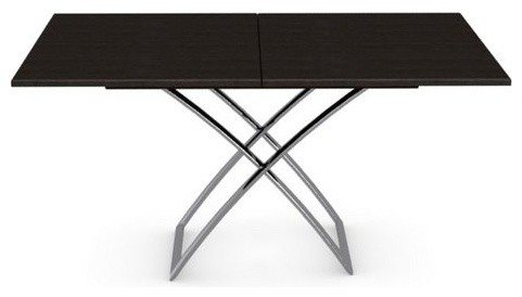 Table basse relevable extensible italienne magic j weng de calligaris cont - Table extensible wenge ...
