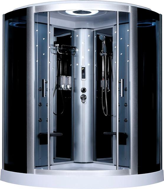 Large Corner Shower With Radio, Massage and 2 Seats ...