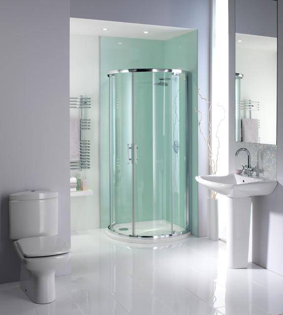 shower wall panels  aqua ice  contemporary  shower