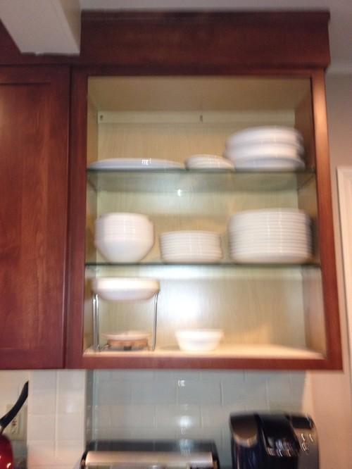should i paint inside of cabinet