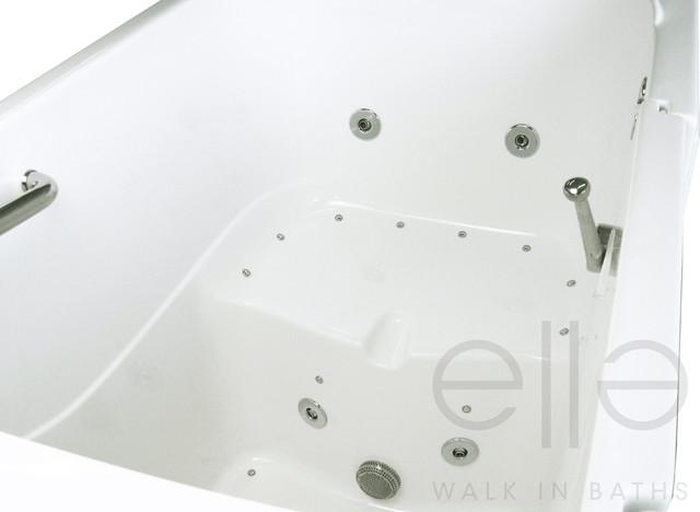 Bariatric wide seat walk in bathtub for Bariatric bathroom design