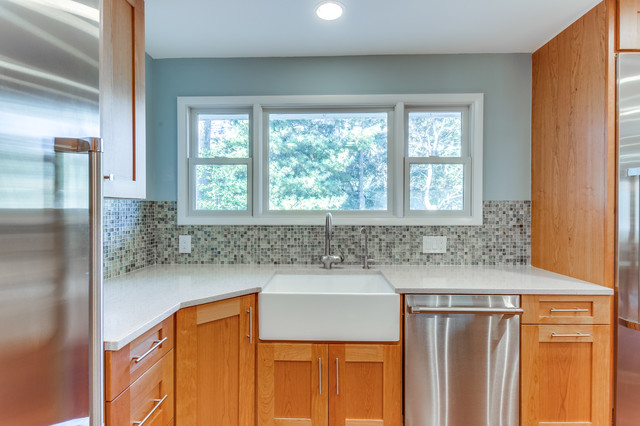 Transitional Kitchen Remodel Fairfax VA By Reico Kitchen Bath Transi
