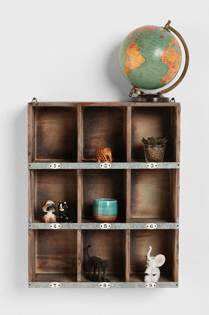 Little Boxes Wall Organizer - Contemporary - Display And Wall Shelves - by Urban Outfitters