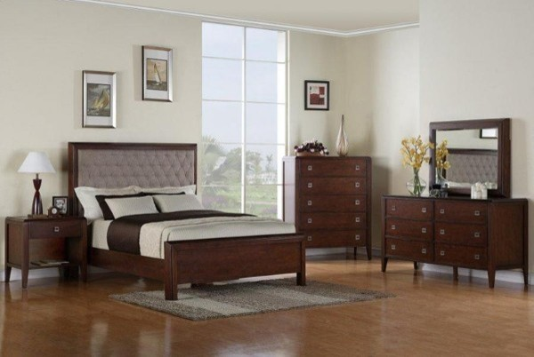 Kathy Ireland Home By Martin Furniture Bedford 4 Piece California King Bedroom Contemporary