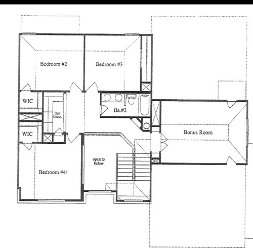 Direction To Lay Harwood? See Floor Plan