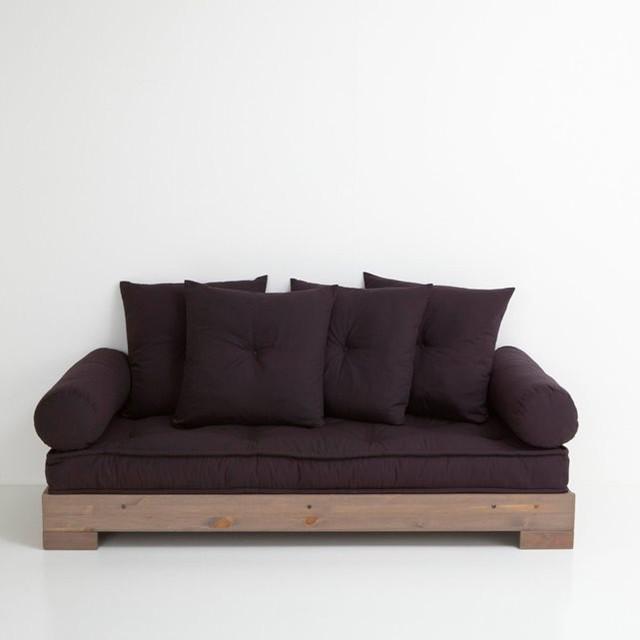 banquette lit de repos sahel 2 ou 3 places soc contemporain lit de jour par la redoute. Black Bedroom Furniture Sets. Home Design Ideas