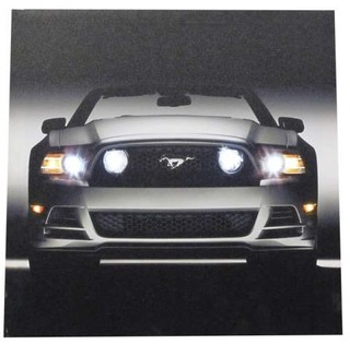 Ford Mustang Convertible GT with Headlights on Lighted Canvas Wall Art ...