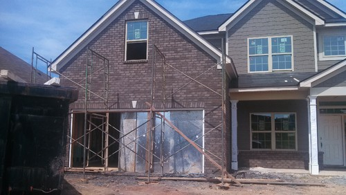 Brick Mortar Is Too Dark What Can I Do To Lighten The House