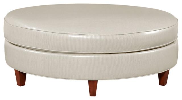 cream leather ottoman coffee table 2