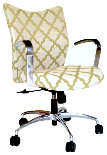 fabric office chair with arms 3