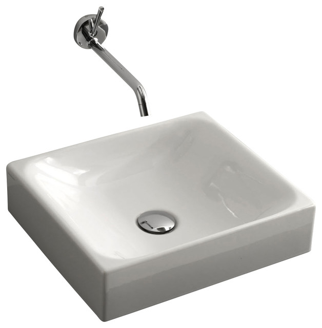 ... 3554 Vessel Bathroom Sink 15.7
