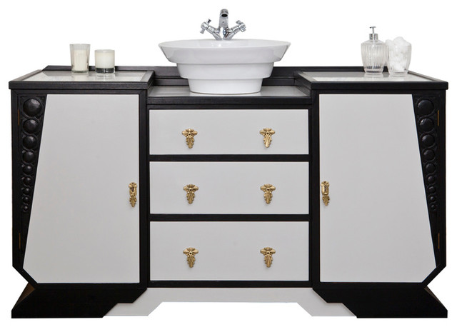 Art Deco Bathroom Vanity Unit Arts And Crafts Bathroom Vanity Units And Sink