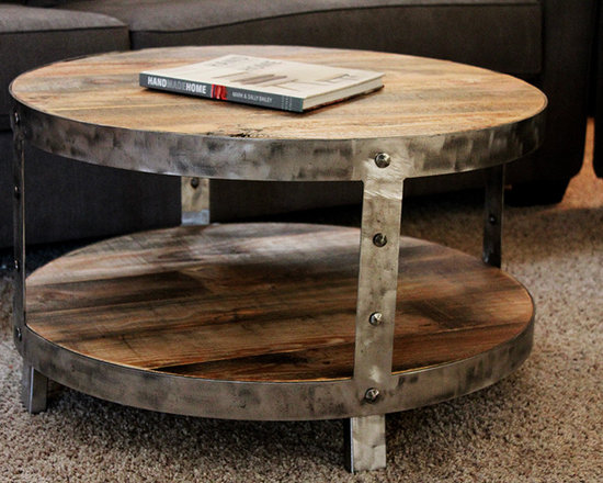 Round Coffee Table Industrial