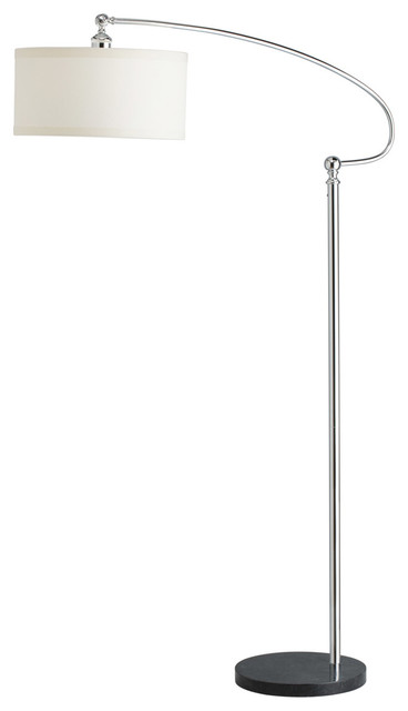 Kichler Westwood Gatwick 1 Light Floor Lamp In Chrome